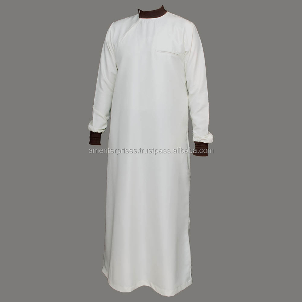 mens Daffah thobes - muslim prayer abaya - Muslim Men's thobe thoub