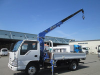 USED TRUCKS - ISUZU ELF 2T 3-STAGE CRANE (RHD 820158 DIESEL)