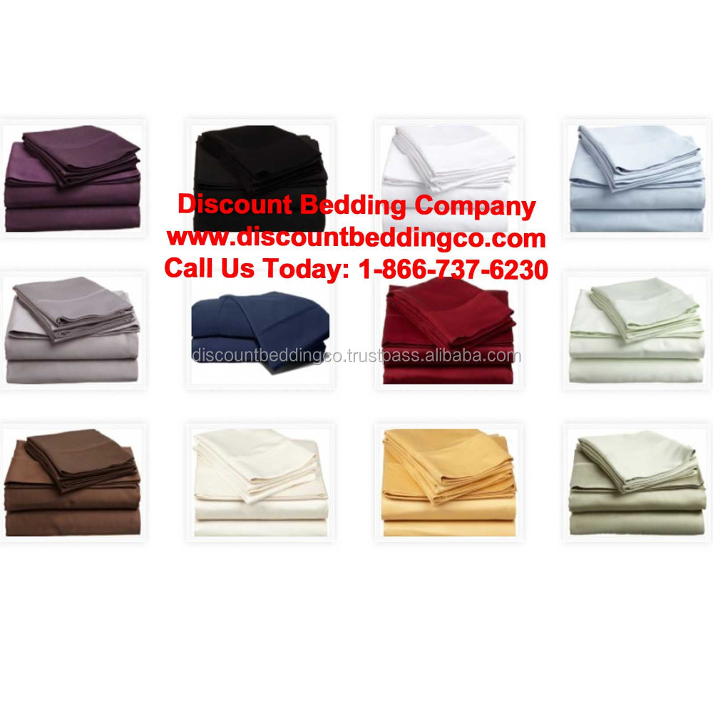 Fundraising Bed Sheets 1800 Thread Count All Sizes Split King & Queen, Cal King, King, Queen, Full, XL Twin, & Twin 13 Colors