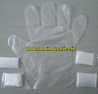 Plastic Disposable Hand Gloves (single/pair packing)