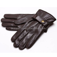 Men Fashion Winter Warm Leather Motorcycle Driving Sports Gloves/best quality by taidoc