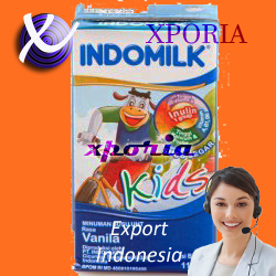 INDOMILK UHT KIDS VANILLA 115ml | Indonesia Origin | Cheap popular halal uht cow milk for children with delicious flavours