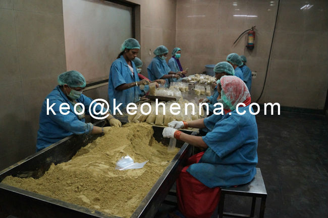 Real Refined Shifted Henna Mix Colorless Cassia Obovata Powder for Hair Manufacturer
