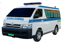 NEW CONDITION AMBULANCE IN 2016 TOYOTA HIACE MID ROOF