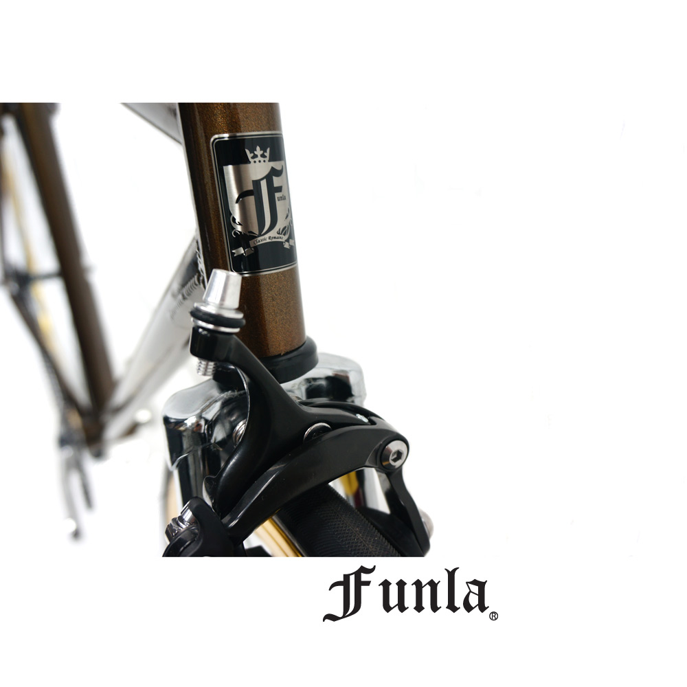Funla Coffee Gold 700C Fixed Gear complete bike