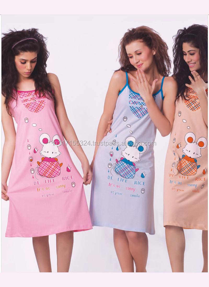Tirupur Hosiery Garments Women 39 S Night Wear Factory Outlet Export Women Wear Night Dress Buy