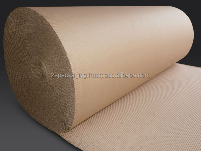 Premium Quality Corrugated Paper with Excellent Structural Strength
