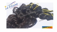 "Exclusive ""E""-grade hair quality 100% virgin Filipino Human Hair Machine Weft Extension Amaya Wave"