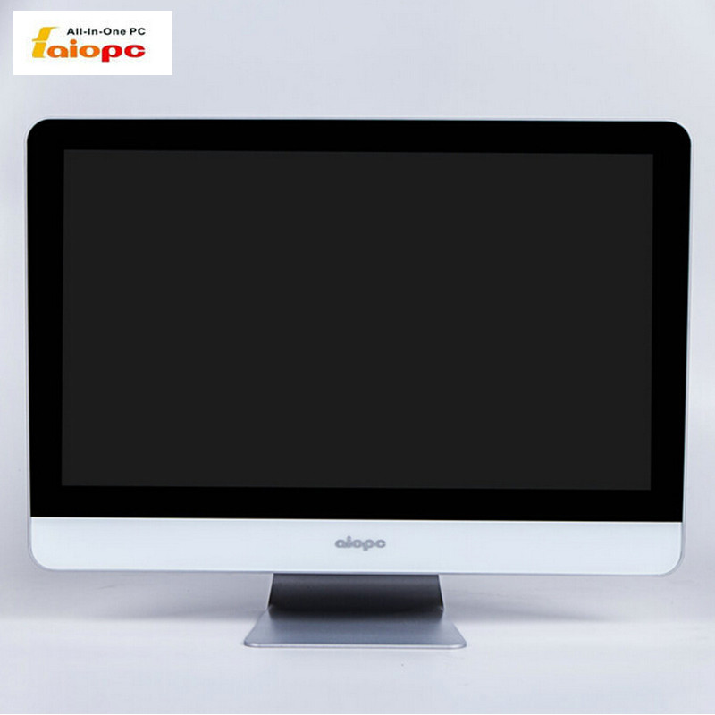 "21.5"" Latest LCD Thin fanless cheap micro mini touch screen all in one PC"