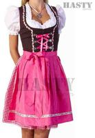 NEW EMBROIDERY STYLE DIRNDLS/OCTOBERFEST BAVARIAN TRACHTEN SEXY DIRNDL DRESS