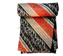 RTHKGC-361 Kantha assorted Quilted Bed sheet for Children Manufacturer Indian Jaipur