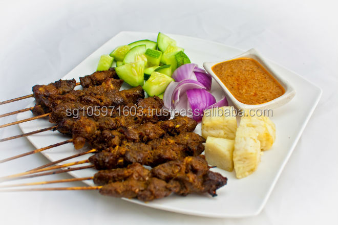 Frozen Cooked Satay Mutton