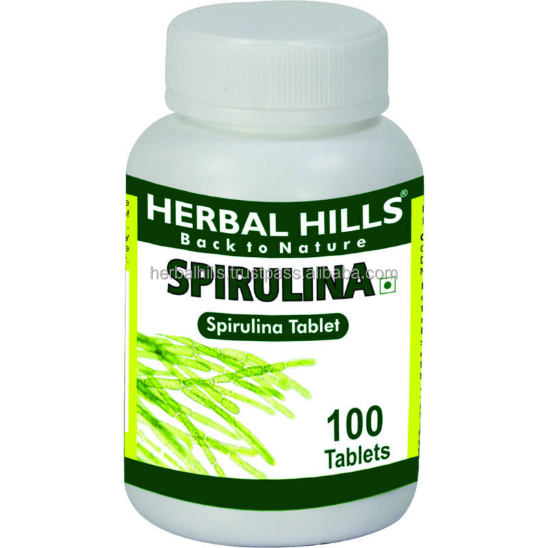 Spirulina for total health benefit