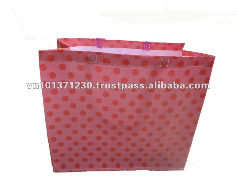 Vietnam high quality plastic shopping trolley bags