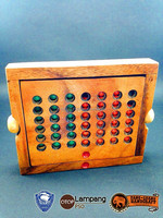Hot item!!! wooden puzzle Bingo conect four puzzle