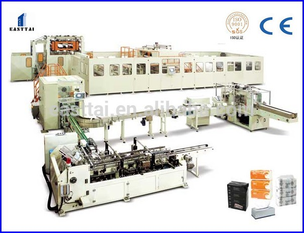 Automatic Napkin Tissue Paper Embossing Folding Machine
