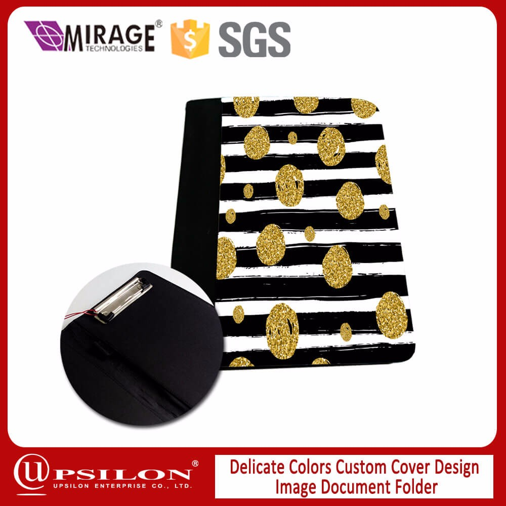 Delicate Custom Cover Design Image Document Folder