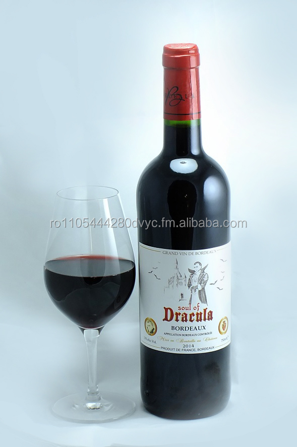Soul of Dracula AOC Bordeaux Wine 75 cl