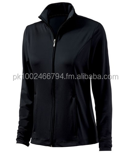 WOMENS WORKOUT JACKET MEDIUM FITNESS TRACK JACKET FOR GYM EXERCISE