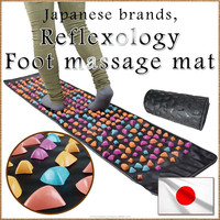 Effective reflexology mat foot massage for health care, small lot order available