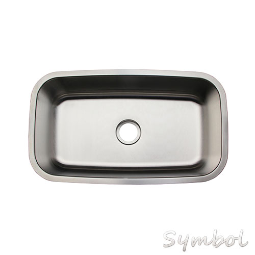 "31""x18"" Equal Double Bowl Under Mount Brushed Malaysia Kitchen Sink"