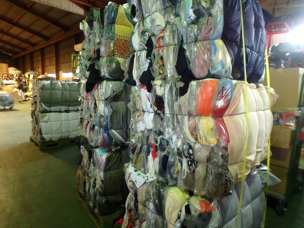 Japanese bulk wholesale clothes Woman/Man/Kids in bales exported from Japan TC-010-81