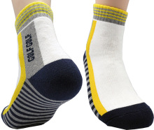Leevo Cotton Quarter Sport Socks Men Small US Shoe 7~9 All Cushion