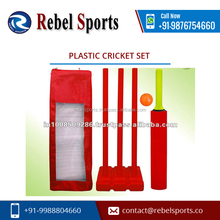 Low Price Longer Service Life Plastic cricket set from Reliable Supplier