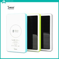 MS-880 5000mAh wireless solar portable external power bank mobile power supply