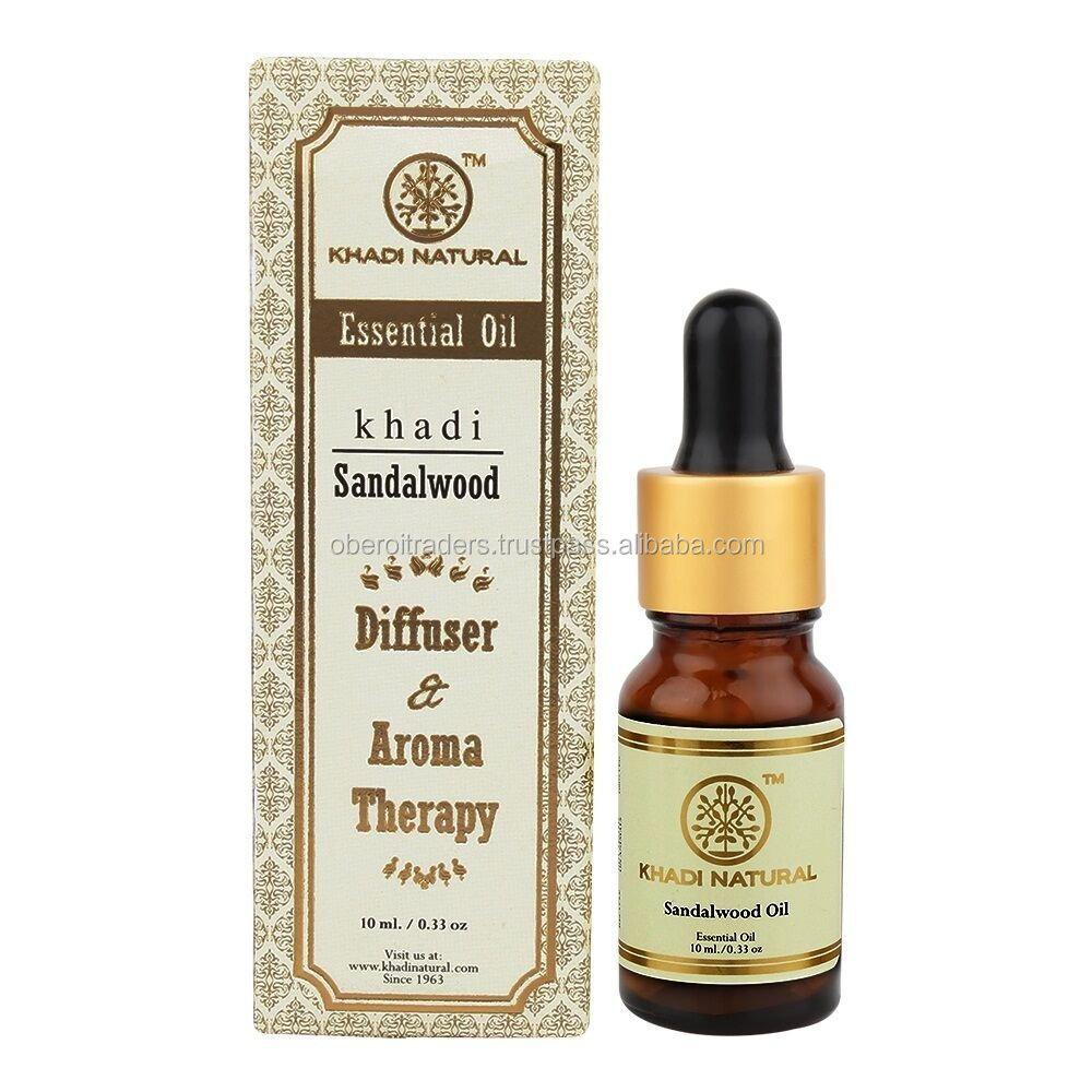 Khadi Sandalwood Essential Oil (10ml)