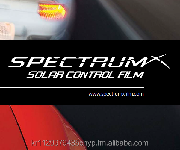 Spectrum-X Window Tint Film - SANGBO Corp., Korea
