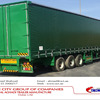 Tri Axles 40ft Curtain Side Semi
