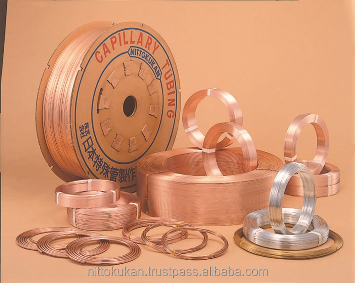 High Quality and Micro pancake coil copper tube at Reasonable Prices