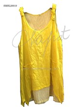 Fashion Women Summer Clothes Sexy Style, Yellow Color T-shirt.