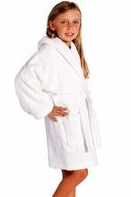 Cheap Wholesale Super Soft kids Cotton Bathrobe with hood