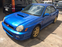RIGHT HAND DRIVE RHD USED CARS JAPAN 2000 SUBARU IMPREZA WRX STI V7
