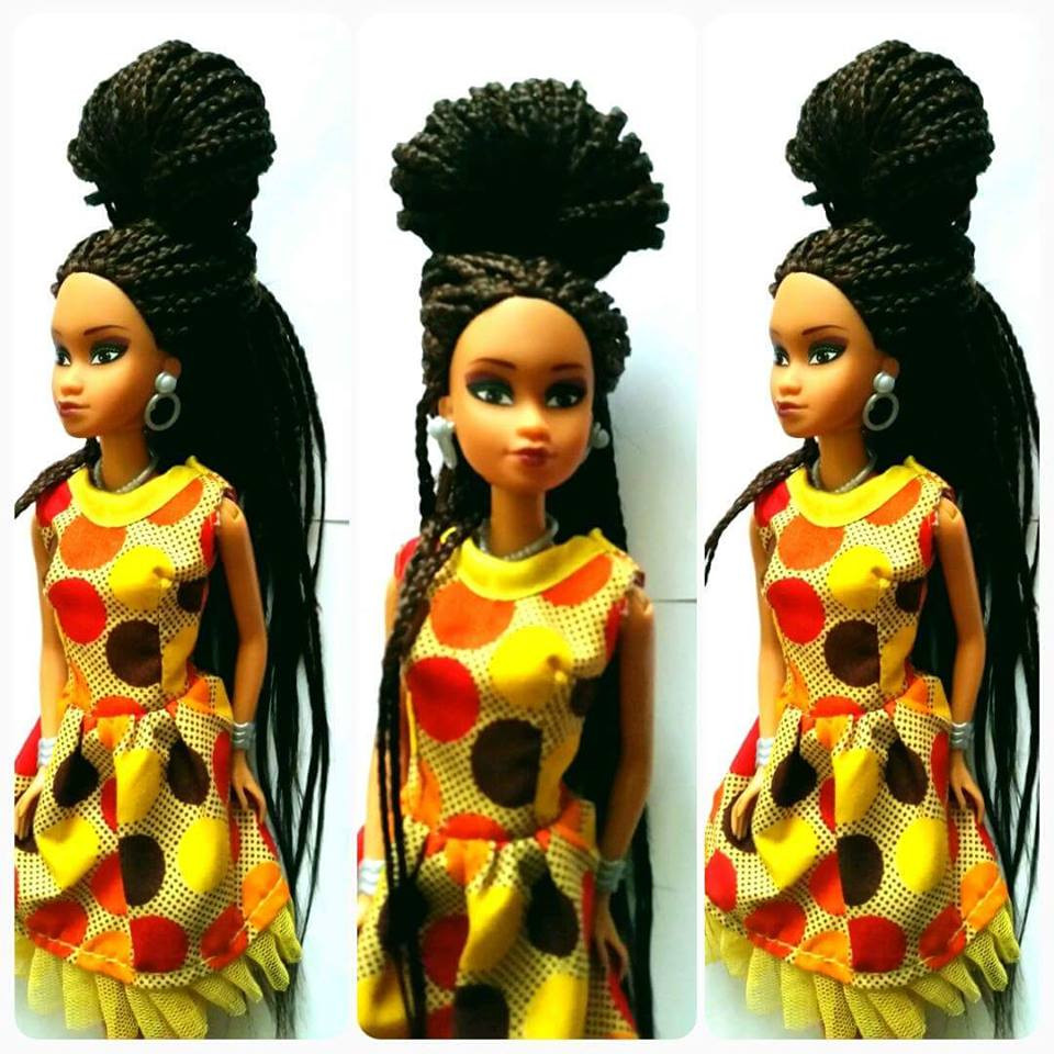 2016 top sale fashion doll wholesale african doll