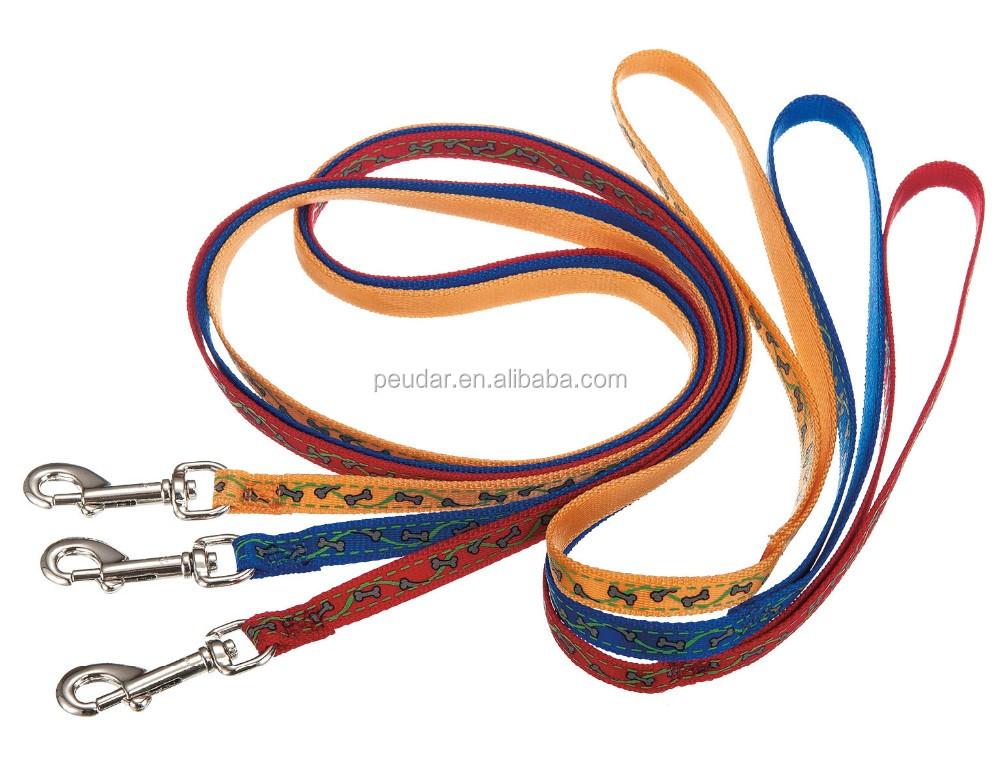 2016 Custom Print Logo Wholesale Dog Leash