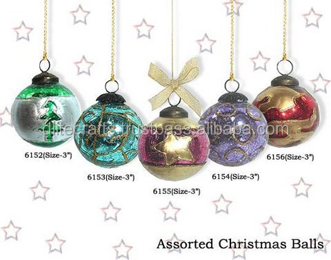 Christmas Decoration,Festival Party Ornaments,Christmas Accessories,Hanging Gift,Xmas Hanging Garland,Glass Ball,Glass Crafts