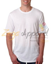 Zegaapparel good quality frothing funny crew neck polyester logo men's tshirt