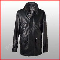 genuine sheep leather jacket for men,High Quality Winter Fashion Man