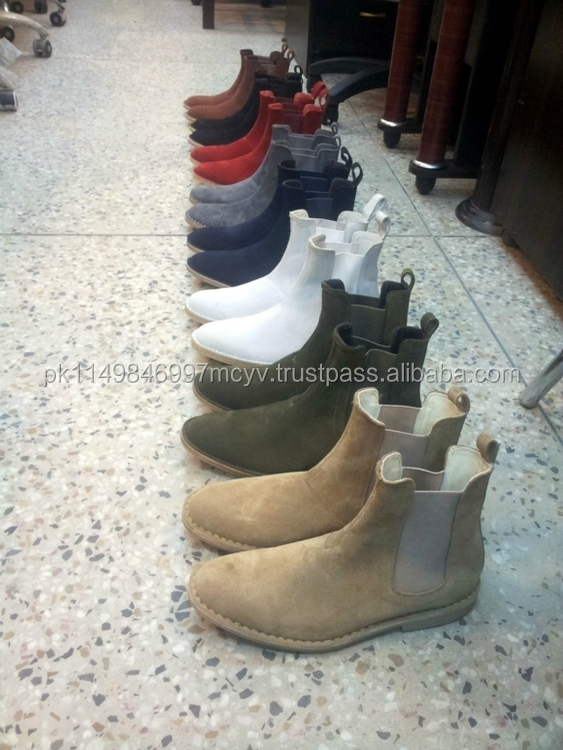Chelsea Boots Many Colors Handmade Boots export quality chelsea crepe soles ankle men's,women