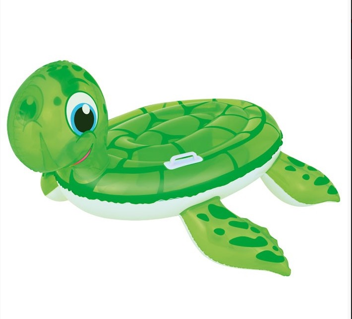 INFLATABLE TURTLE RIDE PERFECT FOR POOL USE