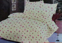 High quality 100% cotton percale printed bed sheet/duvet/bed cover/bedding set