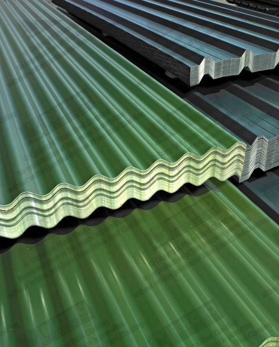 APT METALS Single Skin Roofing/Profile Sheet IN MIDDLE EAST