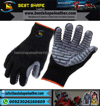 new style men's black and gray Anti vibration Touch gloves
