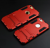 shenzhen factory make 3D tough armor iron man plastic hard case for iphone 5/5s/6/6 plus/6s/6s plus mobile phone protective case