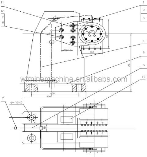 electric control system auto control type mine hoist