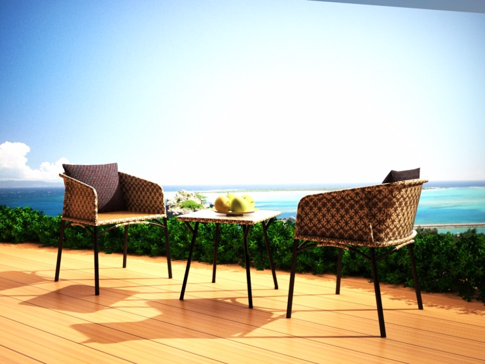 Eshita Outdoor Chair - Indonesia Synthetic Rattan Furniture