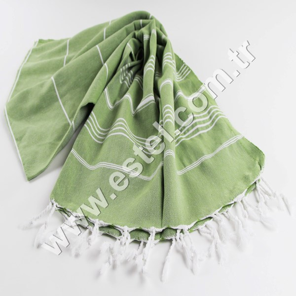 Tart Apple Green Palace Towel Yacht Gym Fitness Kitchen Yoga Baby Towel Picnic Blanket Direct from Producer in Turkey